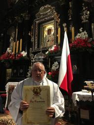 Akt zawierzenia Maryi na Jasnej Górze kościołów naszej parafii