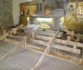 Betonowanie schodów ołtarzowych - IX 2014