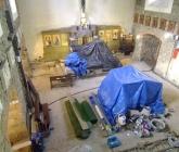 Dalsze prace w kościele i podziemiach - III 2015