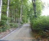 Remont drogi na szczyt Ślęży - VII 2013