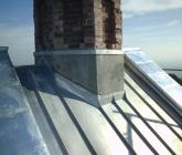 Remont kościelnej wieży - IX 2014