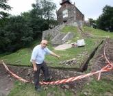 Remont schodów i doprowadzenie prądu - IX 2013