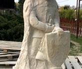 Rzeźba Bolka II w piaskowcu - IV 2019