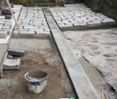 Odwodnienie i prace kamieniarskie - IX 2015